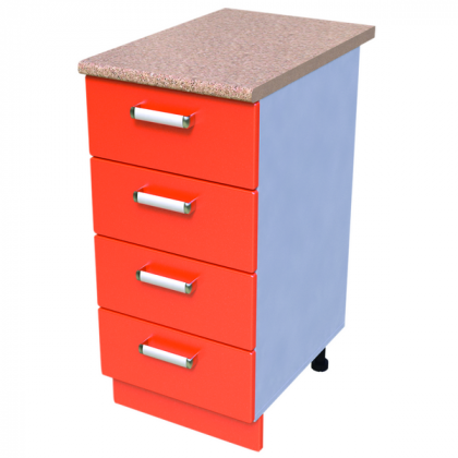 Шкаф-стол 400мм КС-12