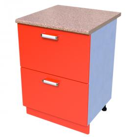 Шкаф-стол 600мм КС-22