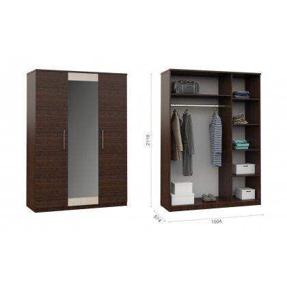 """Шкаф 3-х дверный """"Аврора"""""""