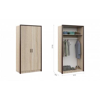 "Шкаф 2-х дверный ""Эшли"""