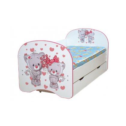 Кровать детская с фотопечатью с 1-м ящиком