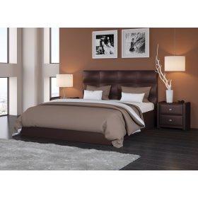 """Мягкая кровать """"Вена""""  с подъемным механизмом."""