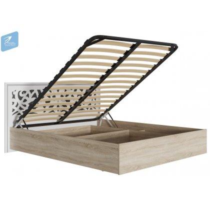 """Кровать 1,6м с подъёмным механизмом """"Мадлен"""""""