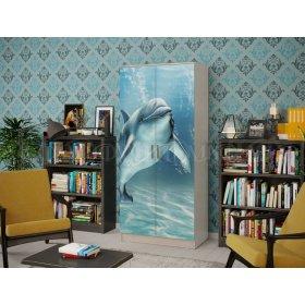 """Шкаф двухдверный """"Дельфин"""""""