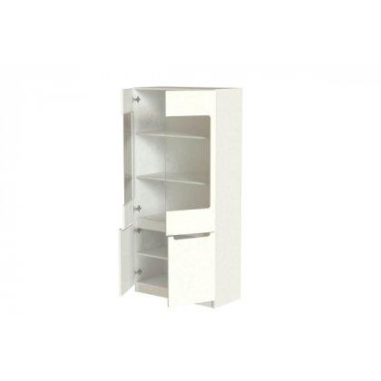 """Шкаф 2-х дверный со стеклом М3 """"Стиль"""""""