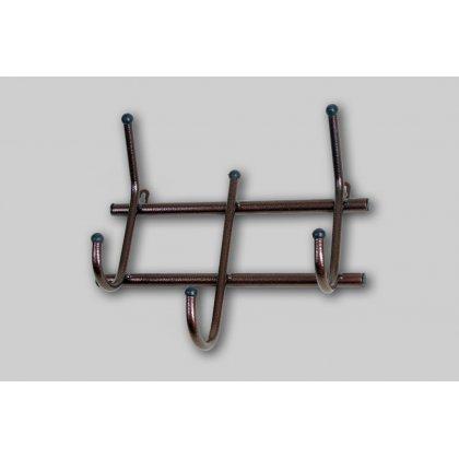Вешалка металлическая настенная