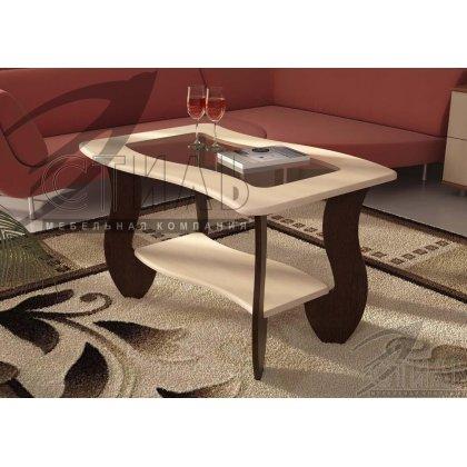 Журнальный стол №3 со стеклом